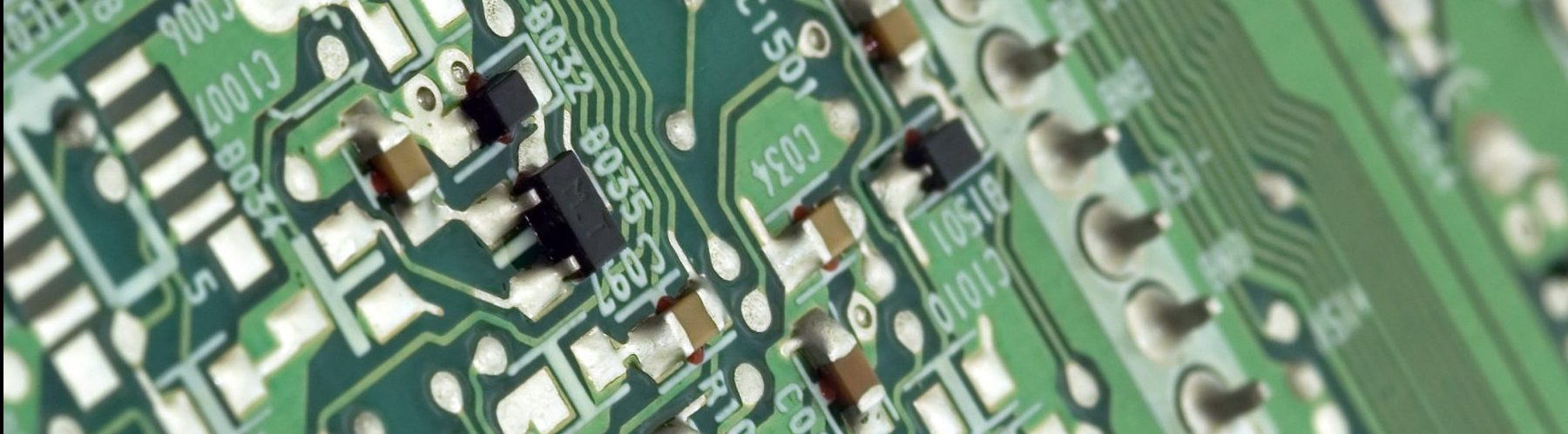 Electronic circuit board and components